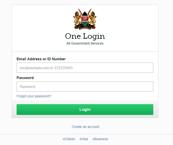 ECitizen Login
