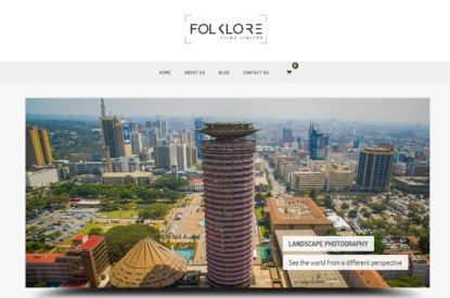 Folklore Films Limited - Web Design