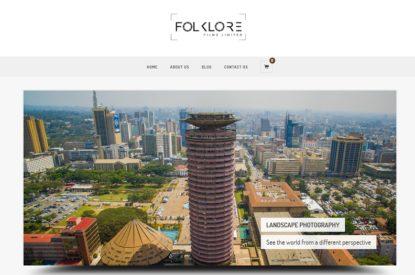 Folklore Films Limited - Web Design