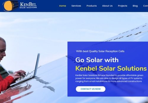 Kenbel Solar Solutions Limited - Website Design