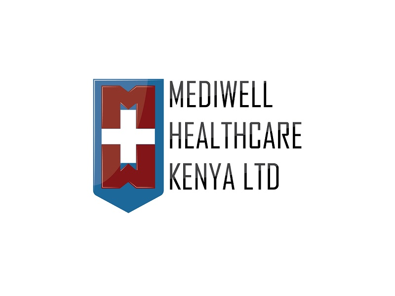 Mediwell Healthcare Kenya Limited Logo Design
