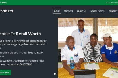 Retail Worth Limited - Web Design