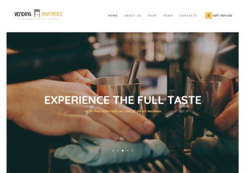 Vending Assistance Team Limited - Web Design