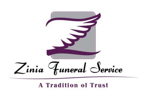 Zinia Funeral Service Limited Logo Design