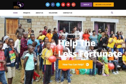 Africa At Heart Limited - Web Design